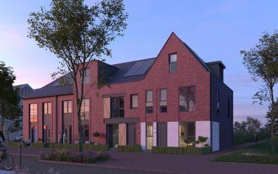 257 panelen op 98 woningen in Muiden